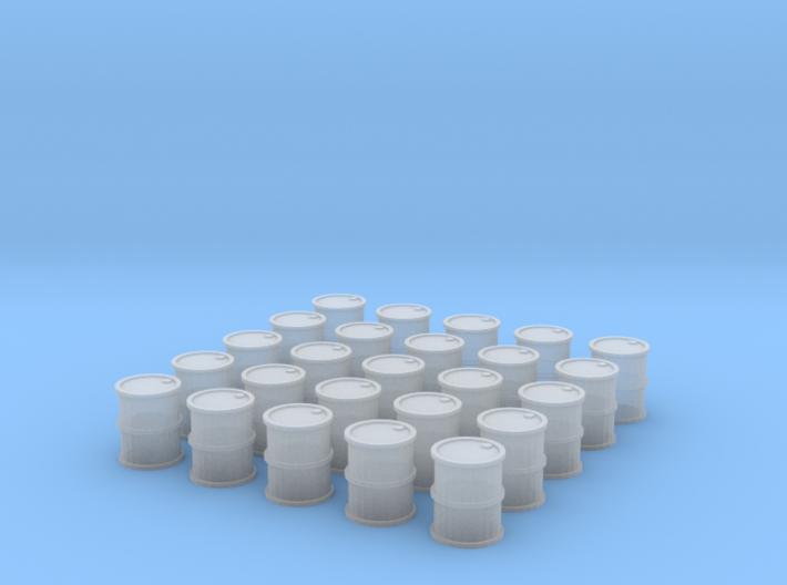 25 Barrels for 10mm (6mm) 3d printed