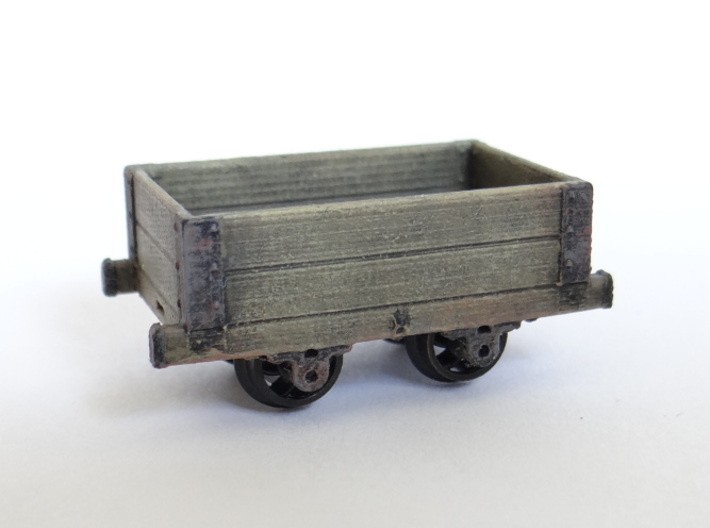 Aberllefenni Box Wagon (x3) 3d printed A Painted Example