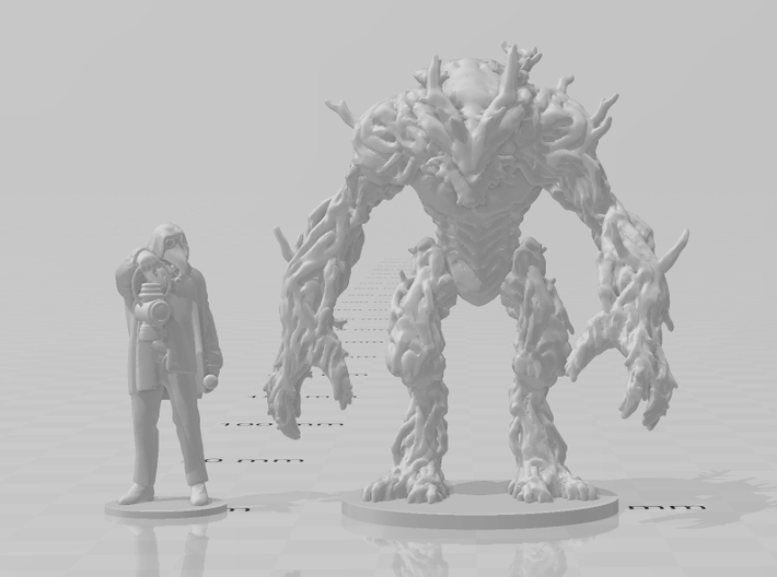 Ent Dryad 55mm DnD miniature fantasy games and rpg 3d printed