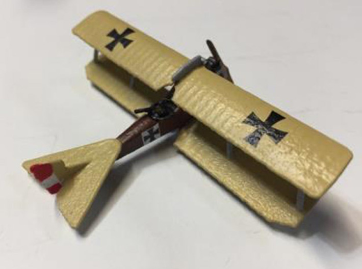 "Brandenburg C.I (Ph) Series 29.5 (various scales) 3d printed Photo and paint job courtesy Ray ""The G Dog"" at wingsofwar.org"