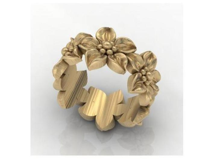 Flower Band Size 8 3d printed Add a caption...