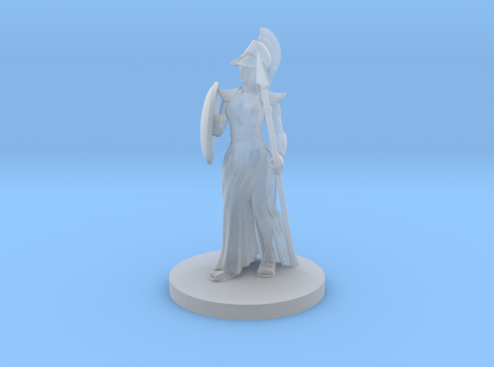 Female Greek Paladin 2 3d printed