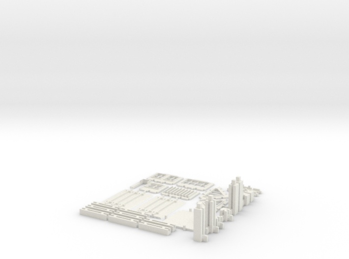 Printable Architectural Kit (Series 1) 3d printed
