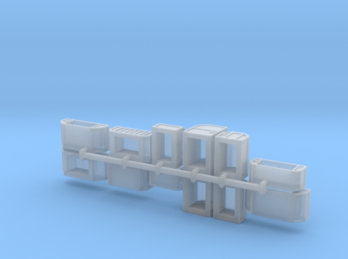 Cargo x12 angled set 3d printed