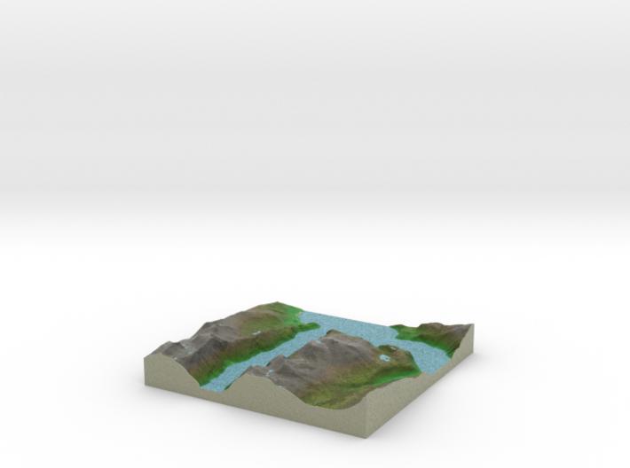 Terrafab generated model Tue Aug 05 2014 17:42:56 3d printed