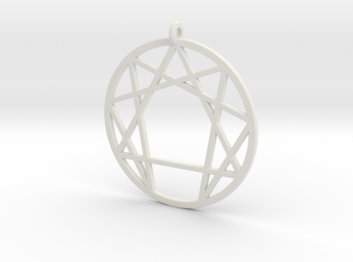 Holy Mountain Pendant Large 3d printed