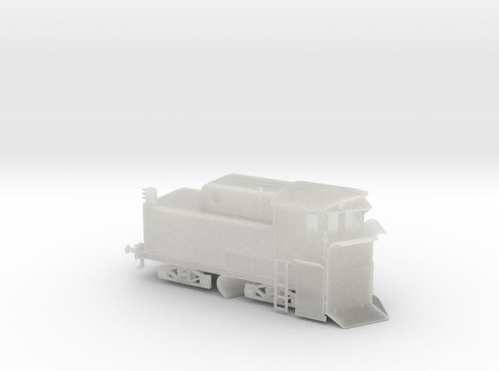 "Spur TT Modell Klima Schneepflug Bauart ""Linz"" 3d printed"