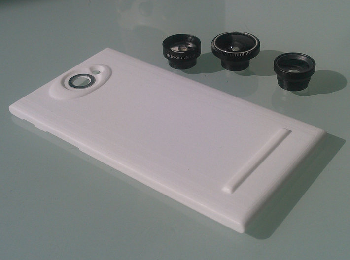 The Other Side Magnetic Lens for Jolla phone 3d printed Lenses and metal ring not included
