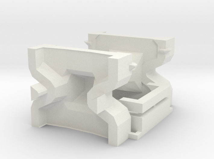 HO/1:87 Accropode 9t-2.98m mould (kit) 3d printed