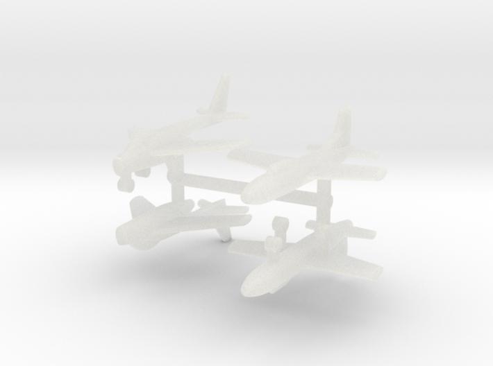 1/700 Experimental Aircraft Set 6 3d printed