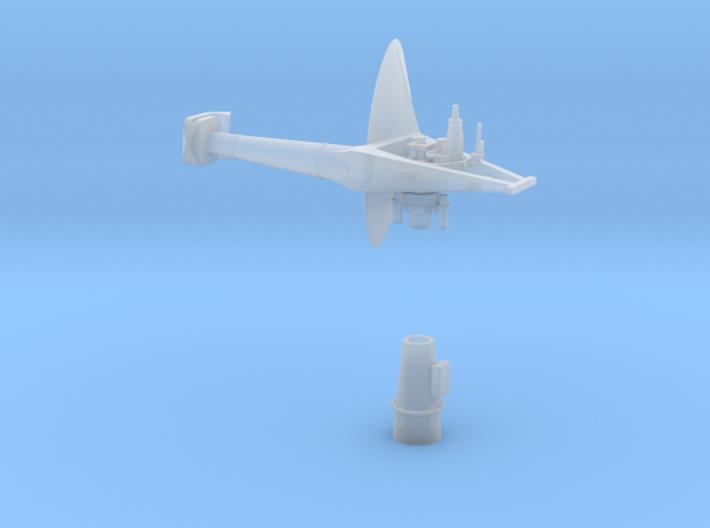 1:96 Scale AN/SPS-30 RADAR 3d printed