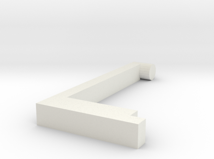 Left handle 3d printed