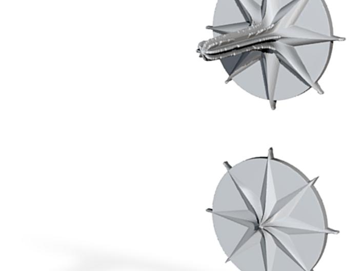 Pang (spinning top) 3d printed