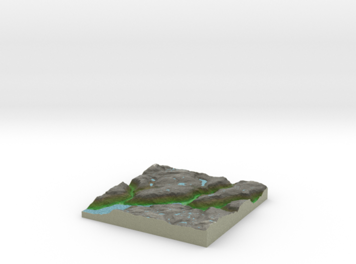 Terrafab generated model Wed Aug 06 2014 16:45:23 3d printed