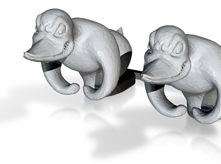 1/12 1/14 1/16 Rubber Duck figure for RC Trucks 3d printed