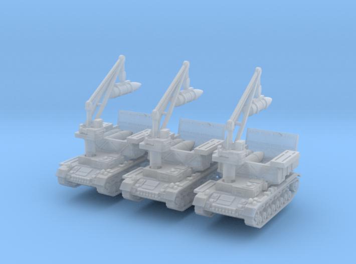 Munitionsschlepper Pz IV 54cm (x3) 1/200 3d printed