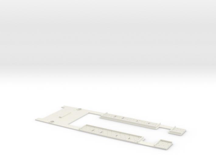 1/350 Masséna Midships Deck 3d printed