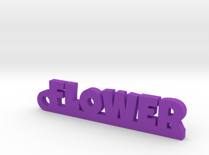 FLOWER_keychain_Lucky 3d printed