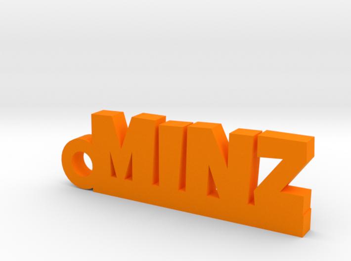 MINZ_keychain_Lucky 3d printed