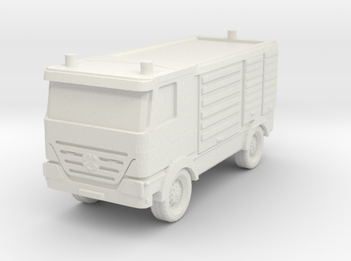 Mercedes Actros Fire Truck 1/160 3d printed