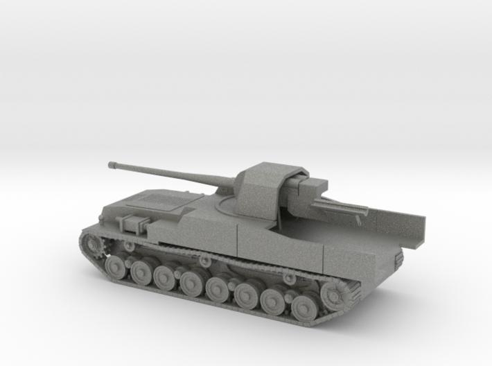 1/100 IJA Type 5 Ka-To 105mm SP Anti-Tank Gun 3d printed