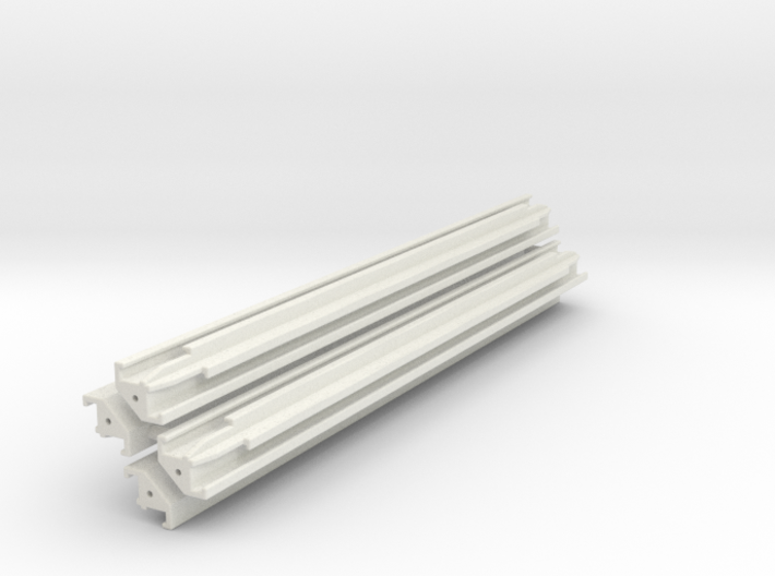 Verbau Eckträger 6.5m Set / shoring rail corner 3d printed