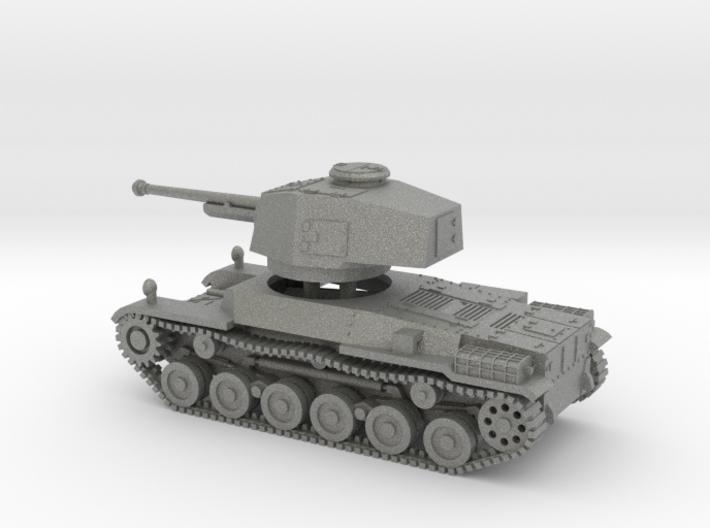 1/100 IJA Type 3 Chi-Nu Medium Tank separate turre 3d printed