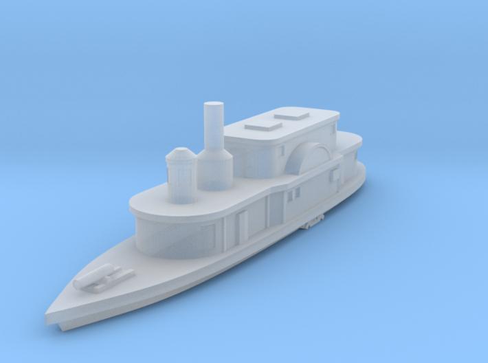 1/1200 USS Alexandria 3d printed