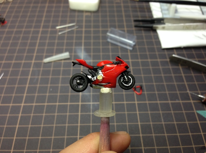 1/64 Scale Ducati Panigale 3d printed