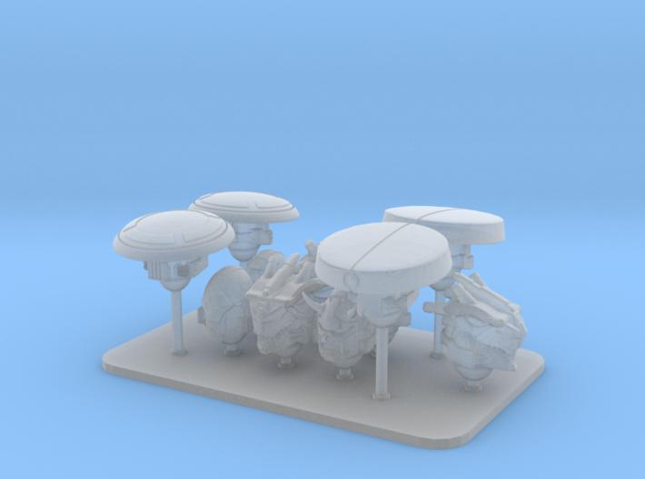 Rising Death Clan V10 Veteran Helmet Set 3d printed