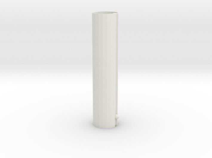 Telescopic spray bottle-tube 3d printed