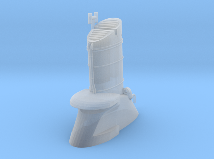 1/600 IJN Kagero Funnel 1 3d printed