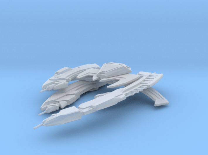 Breen Chel Boalg Warship 3d printed