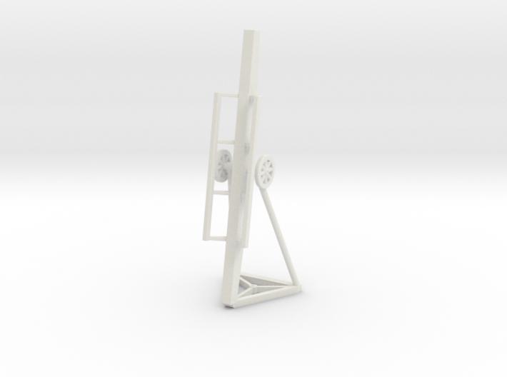 (1:144) Fahr-Lafette mobile launcher for Natter 3d printed