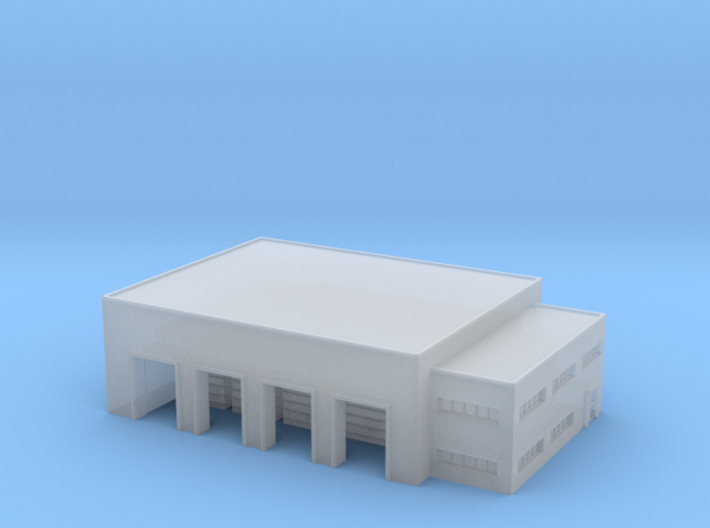 1:700 warehouse+office 3d printed