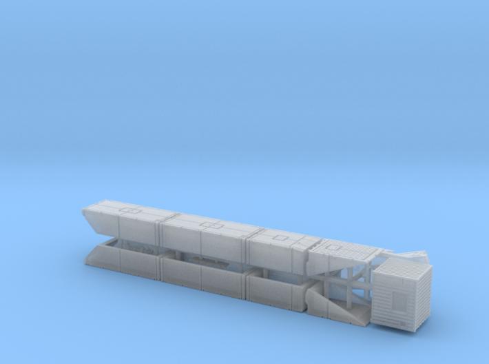 British Mexeflote Ponton System 1/200 3d printed