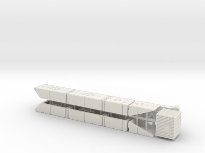 British Mexeflote Ponton System 1/144 3d printed