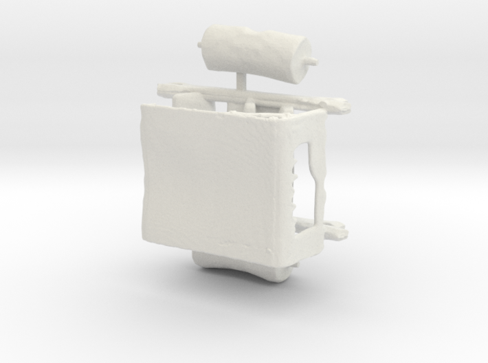 S Scale Flintstone Car 3d printed This is a render not a picture