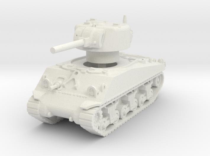 M4A3 Sherman 75mm 1/100 3d printed