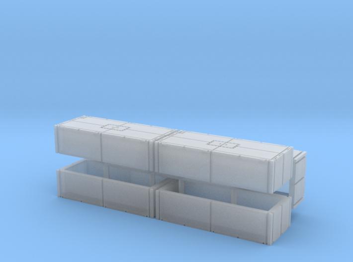 Mexeflote additional pontons 1/285 3d printed
