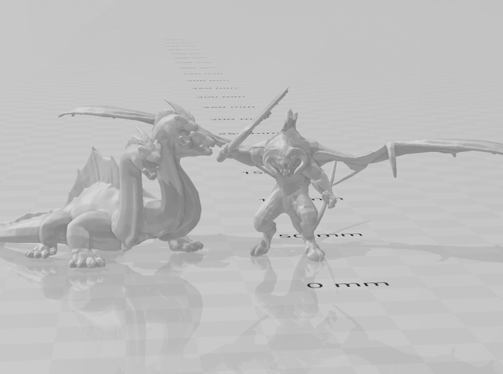 Hydra monster Infantry Epic 6mm fantasy miniature 3d printed