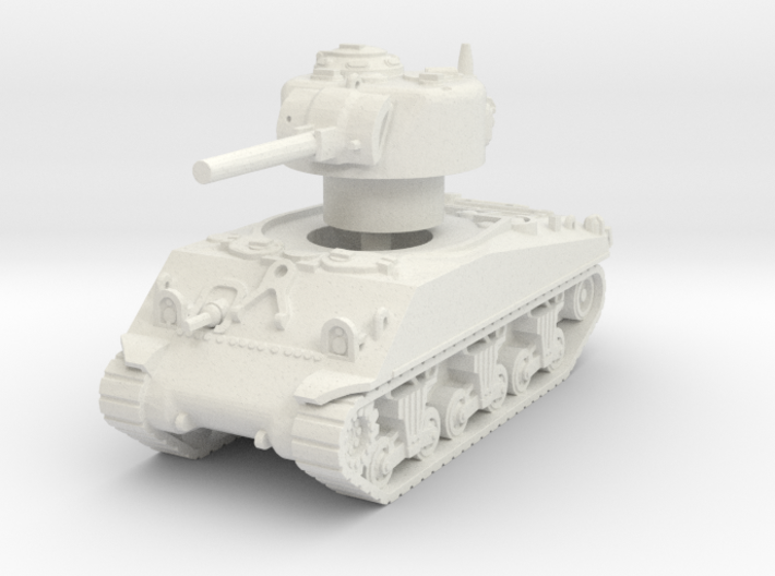 M4A3 Sherman 75mm late 1/76 3d printed