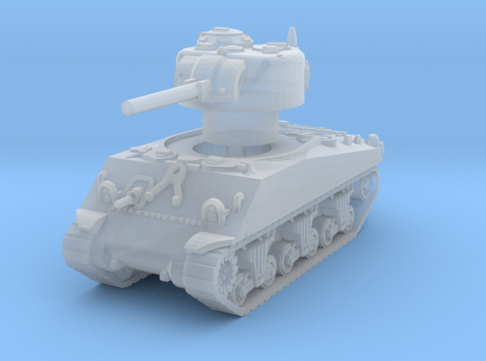 M4A3 Sherman 75mm late 1/144 3d printed