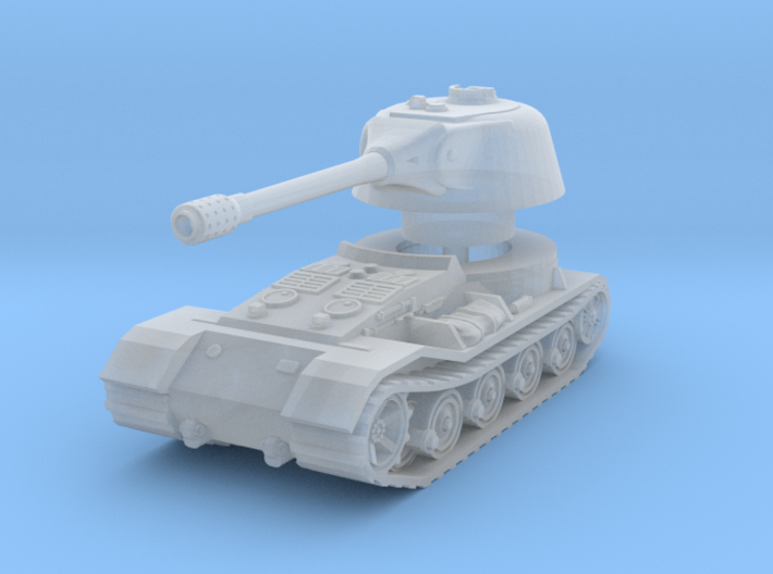 VK.7201 (K) Tank 1/160 3d printed