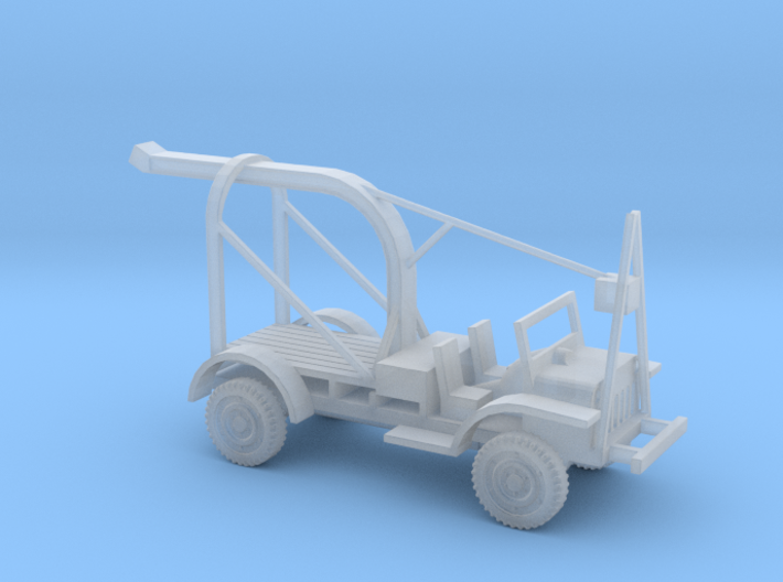 1/87 Scale Ford GBT Bomb Truck 3d printed