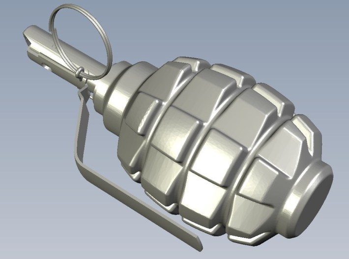 1/12 scale F-1 Soviet hand grenades x 5 3d printed
