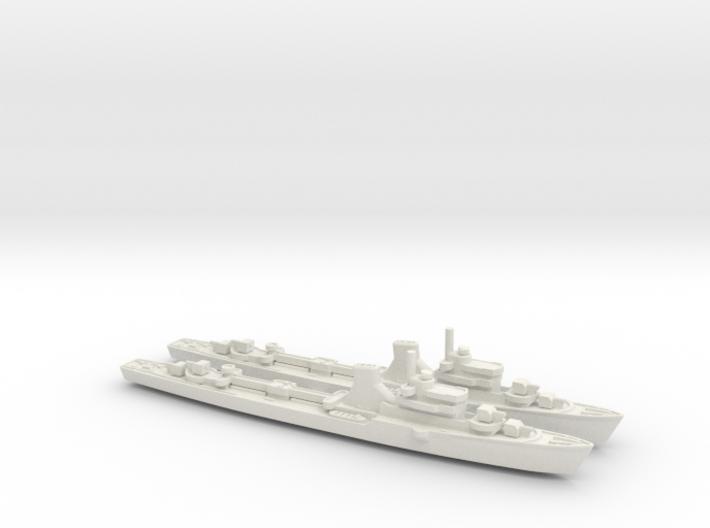 Commandanti Megalie x2 1/600 3d printed