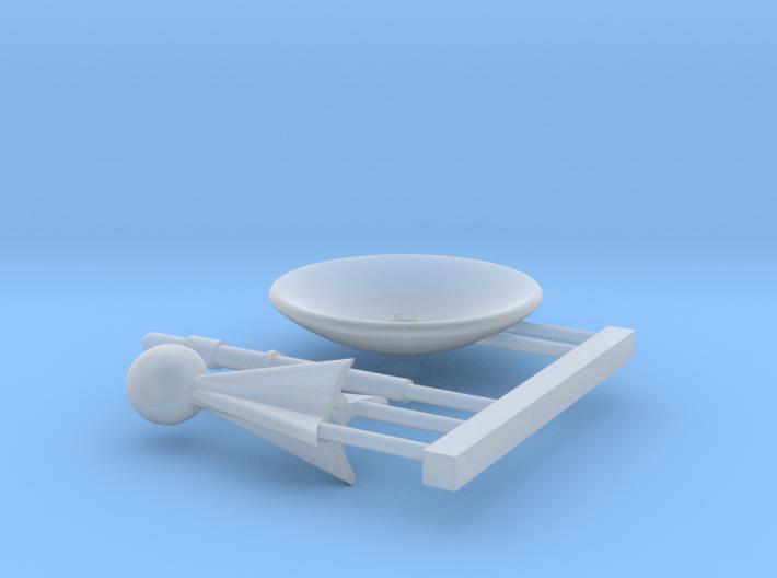 Ugh Style PSA Mount Kit for Loknar 1/1000 Scale 3d printed
