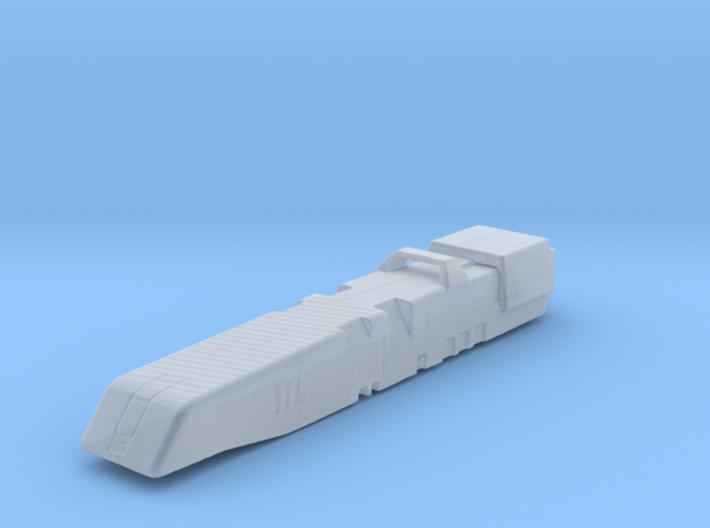 Macross Daedalus 1:6000 /waterline 3d printed