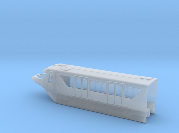Monorail Bombardier Mark VI Cab Body N 1:160 3d printed